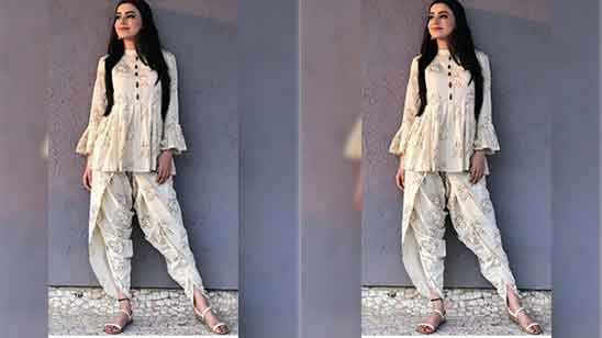 Design of Dhoti Salwar Suit