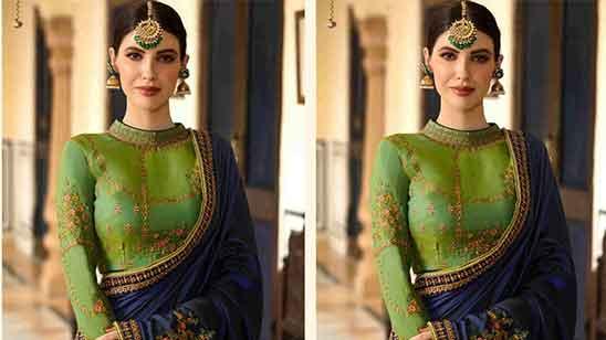Full Sleeve Blouse Designs