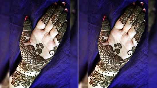 Half Hand Mehndi