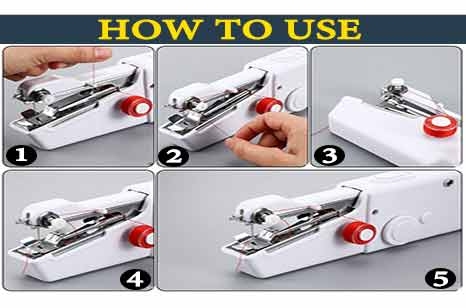 How to Use a Stapler Sewing Machine?