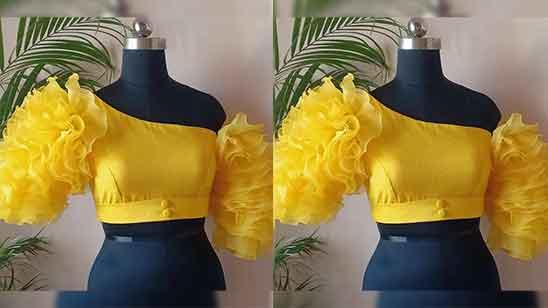 New Fancy Blouse Design