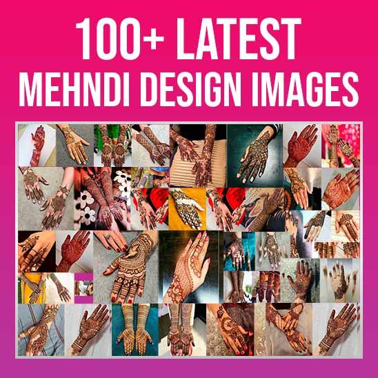 New Latest Mehndi Design Images