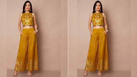 Palazzo Suits for Party Wear