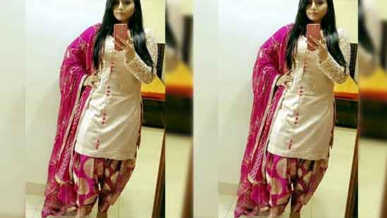 Patiala Salwar Suit Design