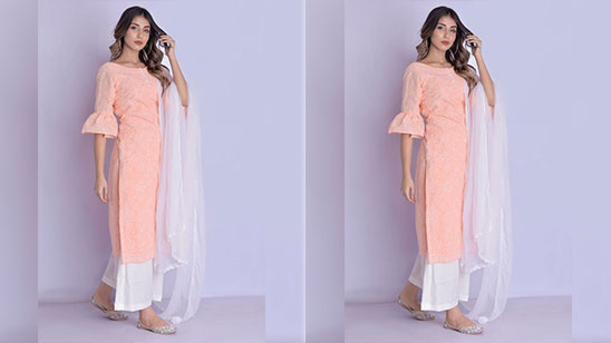 Plazo Suit in Cotton