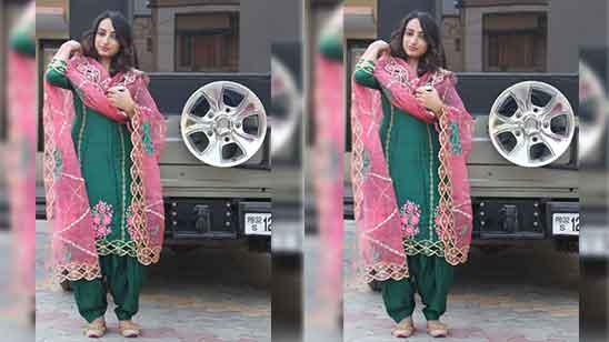 Punjabi Salwar Suit Patiala