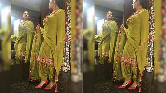 Punjabi Salwar Suit for Girls