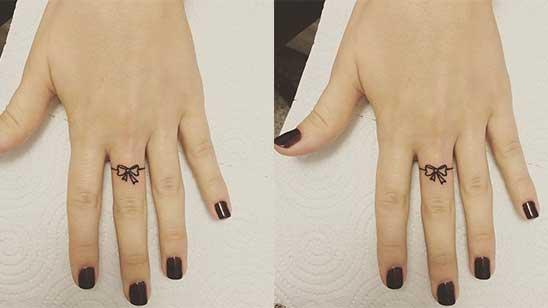 Ring Finger Mehndi Design
