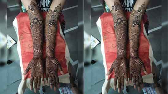 Royal Bridal Mehndi Designs