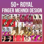 Royal Finger Mehndi Designs