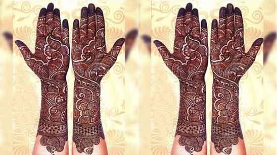 Royal Front Hand Mehndi Design