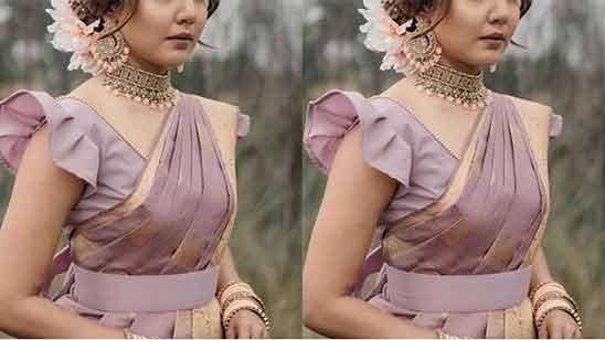 Ruffle Sleeves Blouse Design