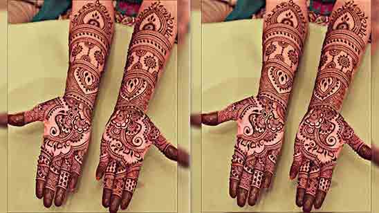 Simple Royal Front Hand Mehndi Design
