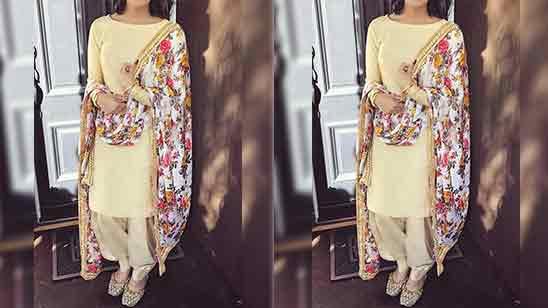 Simple Salwar Suit