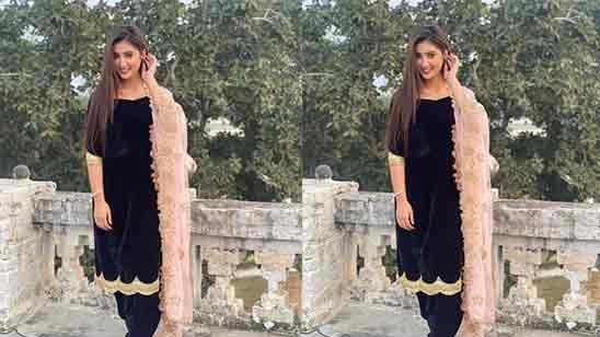 Simple Salwar Suit Design