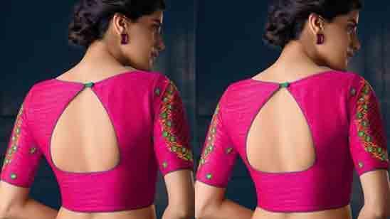 Wedding Blouse Designs Kerala