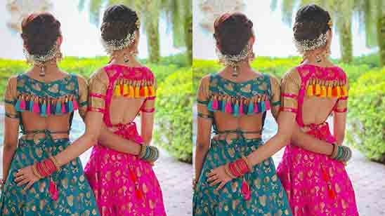 Wedding Blouse Embroidery Designs