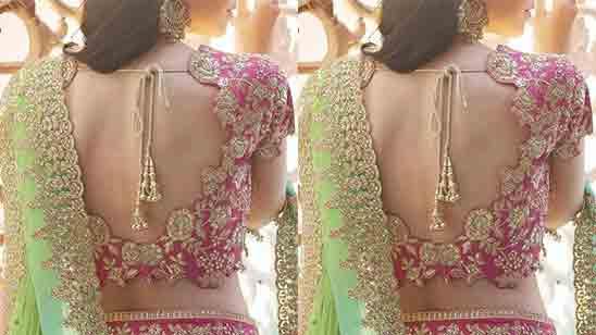 Wedding Bridal Blouse Designs