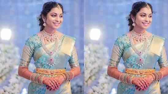 Wedding Marriage Blouse Back Design