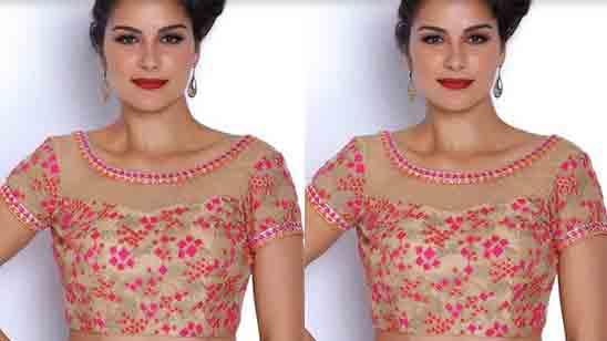 Wedding Net Blouse Designs