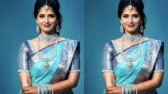 Wedding Paithani Blouse Design