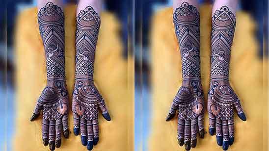 Wedding Royal Bridal Mehndi Design