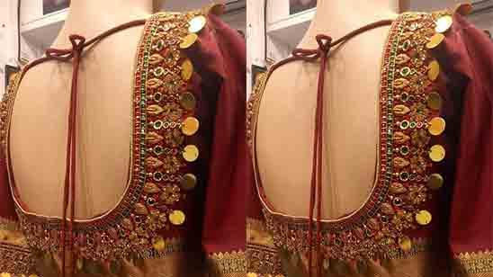 Wedding Simple Attractive Blouse Designs