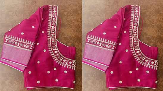 Aari Thread Work Blouse Designs