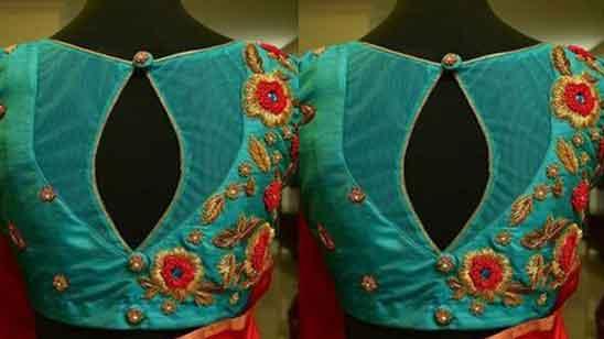 Aari Work Blouse Designs Images