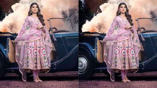 Anarkali Suit With Salwar