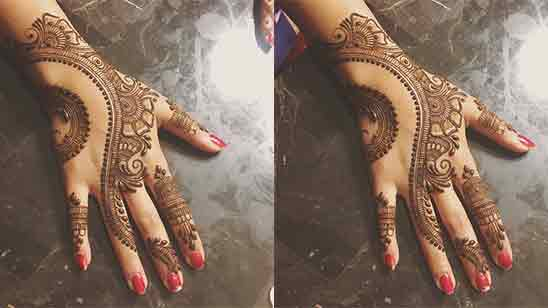 Arabic Mehndi Designs For Hands Simple And Easy