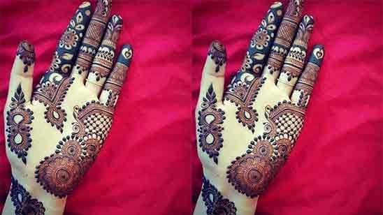 Arabic Simple Mehndi Designs For Hands