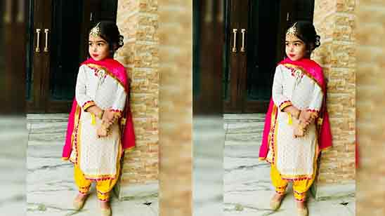 Baby Girl Dhoti Salwar