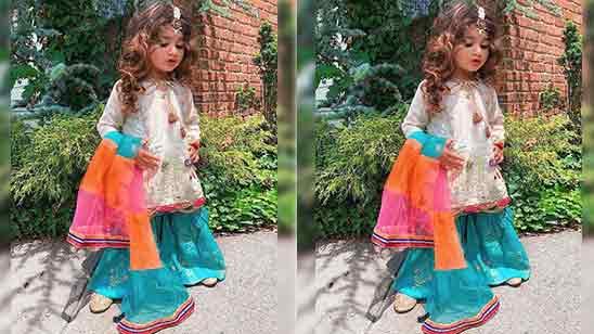 Baby Girl Punjabi Salwar Suit Design