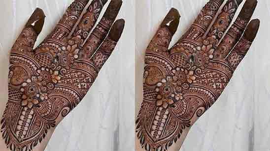 Beginner Cute Simple Mehndi Designs For Front Hands