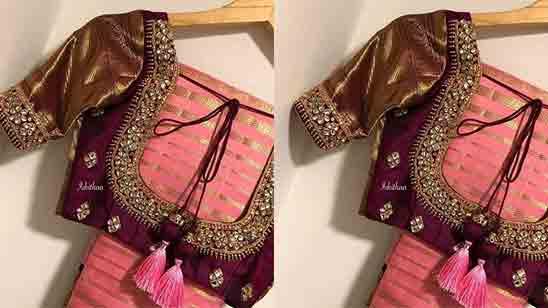 Bridal Aari Blouse Designs