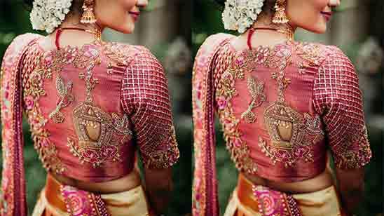 Bridal Aari Work Blouse
