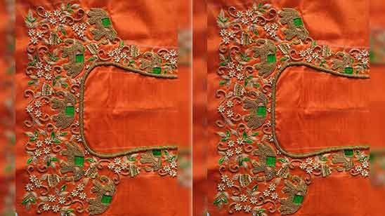 Bridal Aari Work Designs