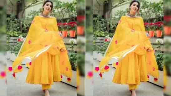 Cotton Anarkali Salwar Suit