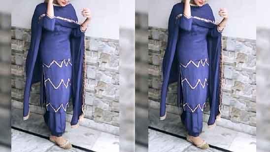 Cotton Patiala Dress