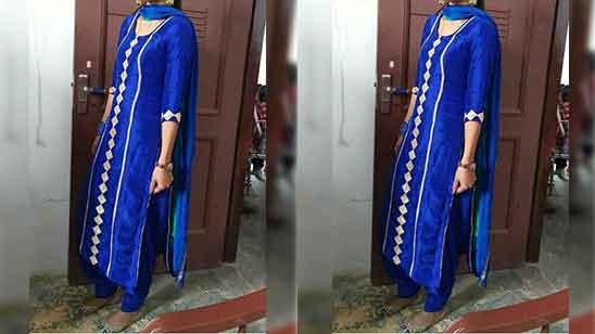 Cotton Patiala Salwar Suit
