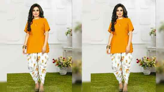 Dhoti Frock Suit