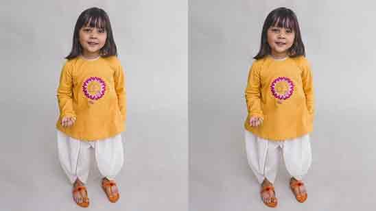 Dhoti Pant Dress For Girl