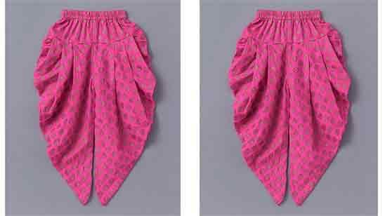 Dhoti Salwar Suit For Baby Girl