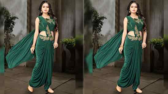 Dhoti Style Suits For Ladies