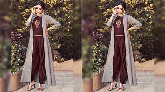 Dhoti Suit With Jacket
