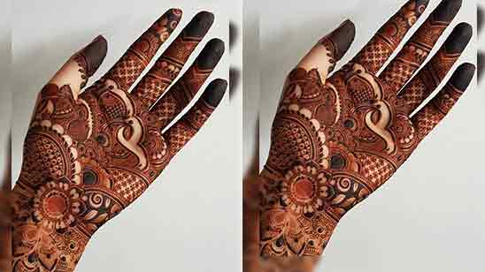 Easy And Simple Mehndi Designs For Front Hand