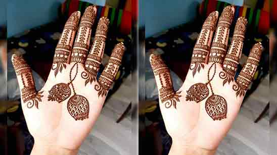 Easy Beautiful Mehndi Designs For Front Hand