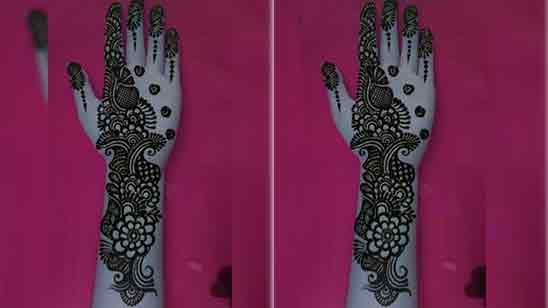 Easy Mehndi Designs For Beginners For Front Hand