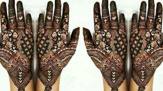 Easy Simple Mehndi Design For Front Hand